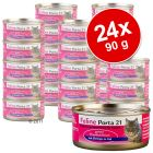 Feline Porta 21 Savings Pack 24 x 90 g - Chicken with Aloe