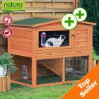 Trixie Natura Giant Hutch & Run - 134 x 83 x 111 cm (Large) - Small Pet Supplies