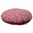 Heated and Cooling Pet Cushion  baroque red - Diameter  56 cm