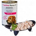 Canine Porta 21 6 x 400 g - Chicken with Rice - Sensitive