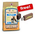 Small Bags James Wellbeloved + JWB USB Stick Free! - Junior Fish & Rice (2 kg)