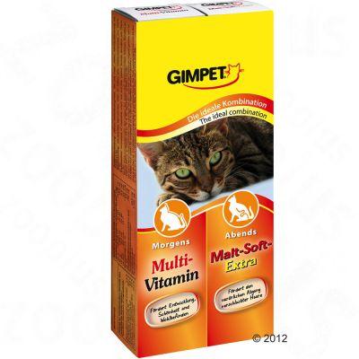 Gimpet Multivitamin + Malt Double Pack - 2 x 50 g