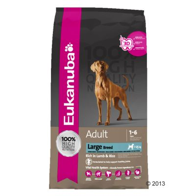 Eukanuba Large Breed Adult - Lamb & Rice - Economy Pack: 2 x 12kg