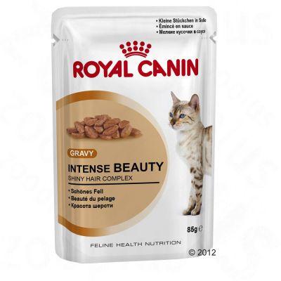 Bouchées en sauce pour chat Royal Canin Intense Beauty- 24 x 85 g