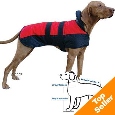 Dog Coat Polar Bear - approx. 35cm Back Length
