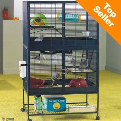 Cage Savic Suite Royal 95 Double pour rat et furet - L 95 x l 63 x H 159 cm