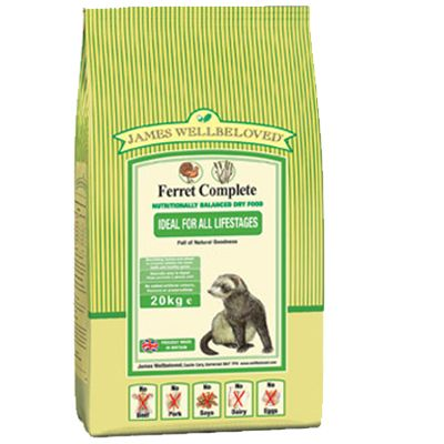 James Wellbeloved Ferret Complete - 10 kg