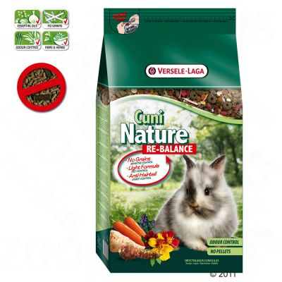 Cuni Nature Re-Balance Rabbit Food - Economy Pack: 2 x 10 kg