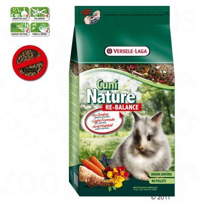 Cuni Nature Re-Balance pour lapin et lapin nain - 2,5 kg