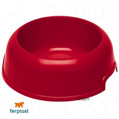 Ferplast Plastic Food Bowl Party, 2.0 l - red