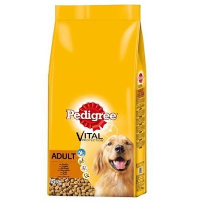 Pedigree Adult Complete - Vital Protection Chicken - Economy Pack: 2 x 15kg