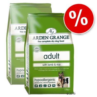 Arden Grange Dog Adult Lamb & Rice - Economy Pack: 2 x 15 kg