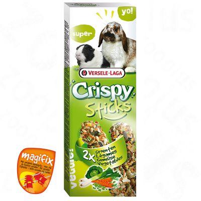 Crispy Sticks, legumes pour rongeur et lapin - 4 x 55 g environ