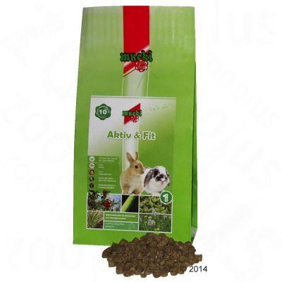Mucki Aktiv & Fit pour lapin - 2 x 2 kg