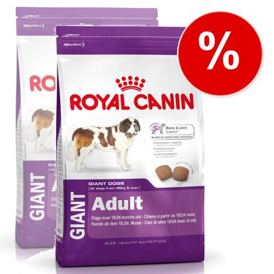 Royal Canin Giant Adult - Economy Pack: 2 x 15 kg