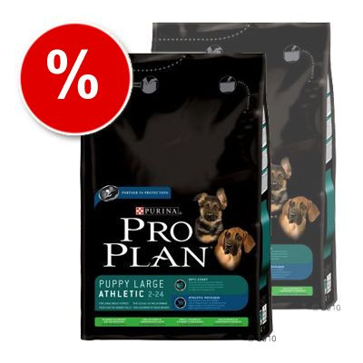 Pro Plan Puppy Large Breed Athletic Lamb & Rice - Economy Pack:  2 x 14 kg