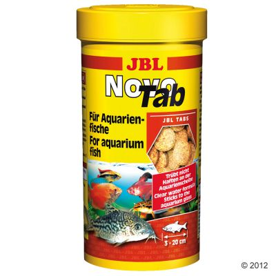 JBL NovoTab Tablet Food - for Carnivorous Fish  - 400 tablets