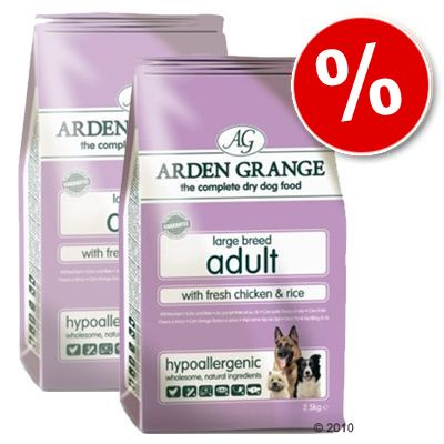 Arden Grange Dog Adult Large Breed Chicken & Rice - Economy Pack: 2 x 15 kg