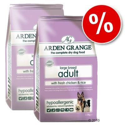 Arden Grange Dog Adult Large Breed Chicken & Rice - Economy Pack: 2 x 15 kg
