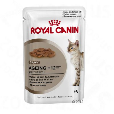 Royal Canin Ageing +12 in Gravy - Saver Pack: 24 x 85g