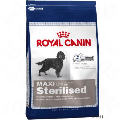 Royal Canin Maxi Adult Sterilised - Economy Pack 2 x 12 kg