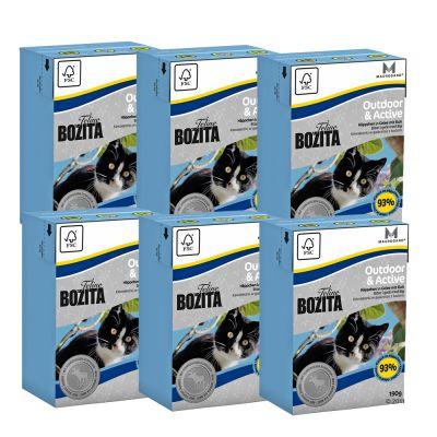 Bozita Feline Tetra Pak Package 6 x 190 g - Hair & Skin - Sensitive