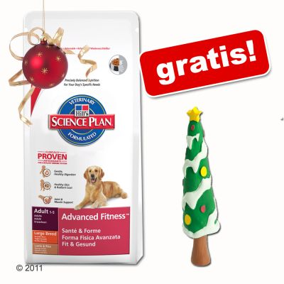 Grossgebinde Hill´s + Latex-Spielzeug gratis! - Mature Senior Large Breed (12 kg)