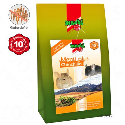 Chinchilla Food Menu Plus - 3 kg