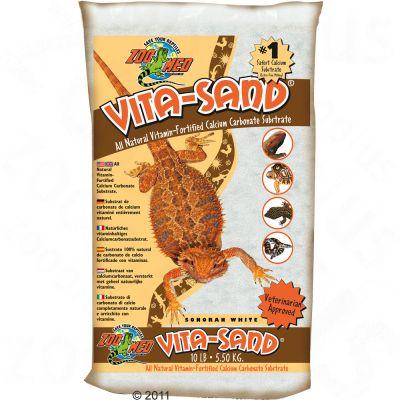 Sable blanc Vita Sand Sonora de Zoo Med- 3 x 4,5 kg