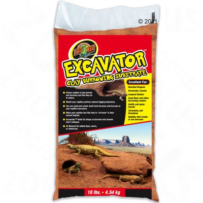 Substrat Excavator Clay Burrowing de Zoo Med- 3 x 4,5 kg