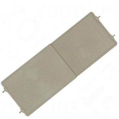 Plate-forme Rip Uni en plastique pour rongeur - L 42-64 x l 26,5 x H 2 cm
