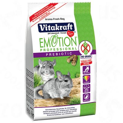Emotion Professional Prebiotic pour chinchilla - 2 x 800 g