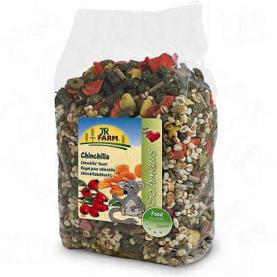 JR Farm Schmaus pour chinchilla - 2 x 1,2 kg