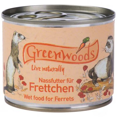 Greenwoods pour furet - 48 x 200 g