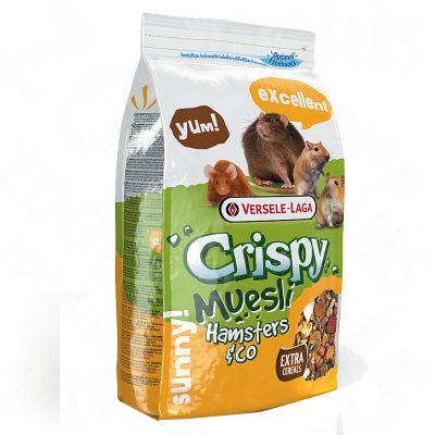 Crispy Ma¼sli pour hamster et autre rongeur - 2,75 kg
