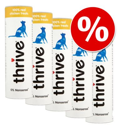 Sparpakete Thrive Gefriergetrocknete Katzensnacks - - 5 x Garnele  18 g