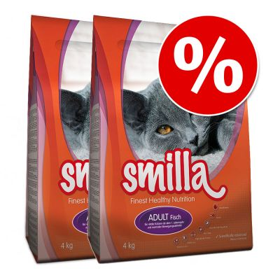 Smilla Dry Cat Food Economy Packs 2 x 4kg - Light