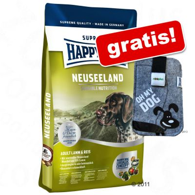 Hundefutter trocken - Happy Dog Supreme - 4 kg Happy Dog Supreme + Handytasche gratis! - Africa