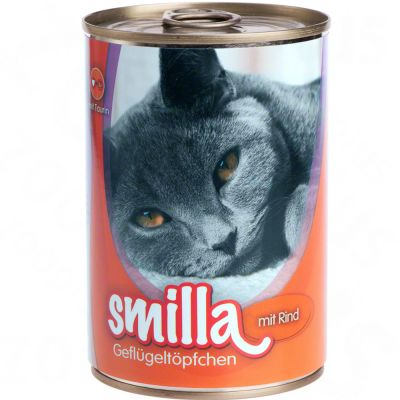 Smilla Poultry Pots 6 x 400g - Tender Poultry with Poultry Hearts