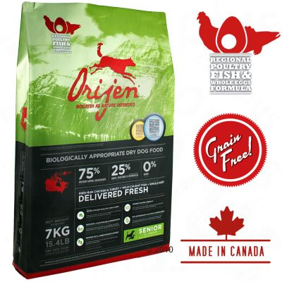 Orijen Senior Dog Food - Economy Packs 2 x 13.5 kg