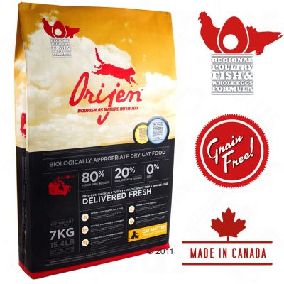 Orijen Original Cat Food - 7 kg