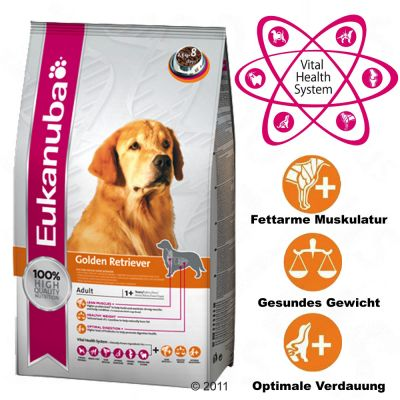 Eukanuba Breed Golden Retriever Hundefutter - 12 kg