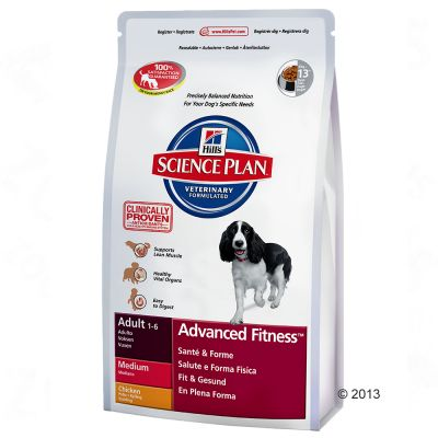 Hill's Science Plan Adult Advanced Fitness Medium - Chicken - Economy Pack: 2 x 12kg