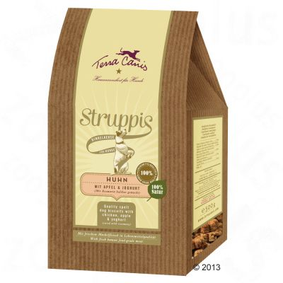 Terra Canis Struppis Dog Biscuits 500g - Chicken, Apple & Yoghurt