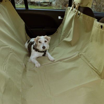 Tidy Traveller Dog Car Seat Cover - 160 x 145 cm (L x W); colour: olive