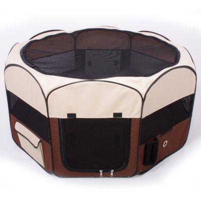 Enclos en nylon, petit format pour rongeur & lapin - L 74 x l 74 x H 39 cm