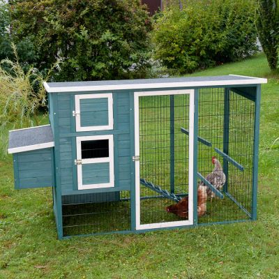 King Ludwig Chicken Coop with Run* - 210 x 86 x 127 cm (L x W x H) incl. Delivery Fee