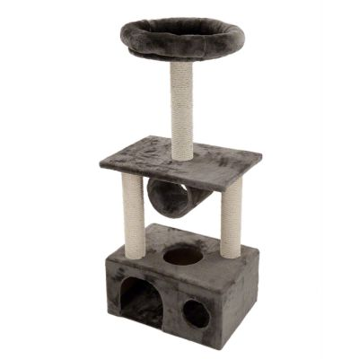 Ajax Cat Tree - Light Grey