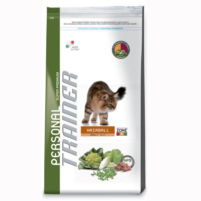 Croquettes pour chat Trainer Personal Hairball- 3 x 2 kg