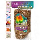 JR Birds Premium Lovebird/African Parrot Food - 1 kg
